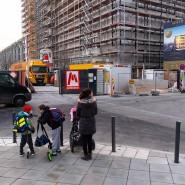 Gefahrenstelle: Mit Zebrastreifen könnte diese Kreuzung in Frankfurt entschärft werden, meinen die Eltern