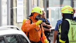 Chemikalie in Ärztezentrum: Polizei schließt Vorsatz nicht aus