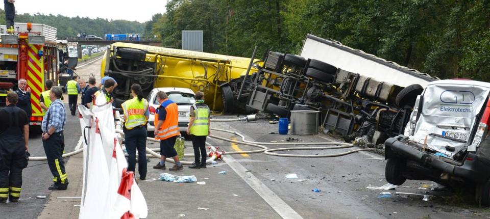 Aktuell Unfall A3
