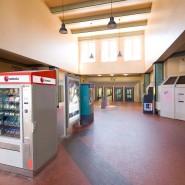 Tatort: Am Offenbacher Hauptbahnhof ist ein Geldautomat gesprengt worden, ob es dieser hier war, steht dahin