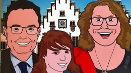 Im Römer mit Holger und Ursula