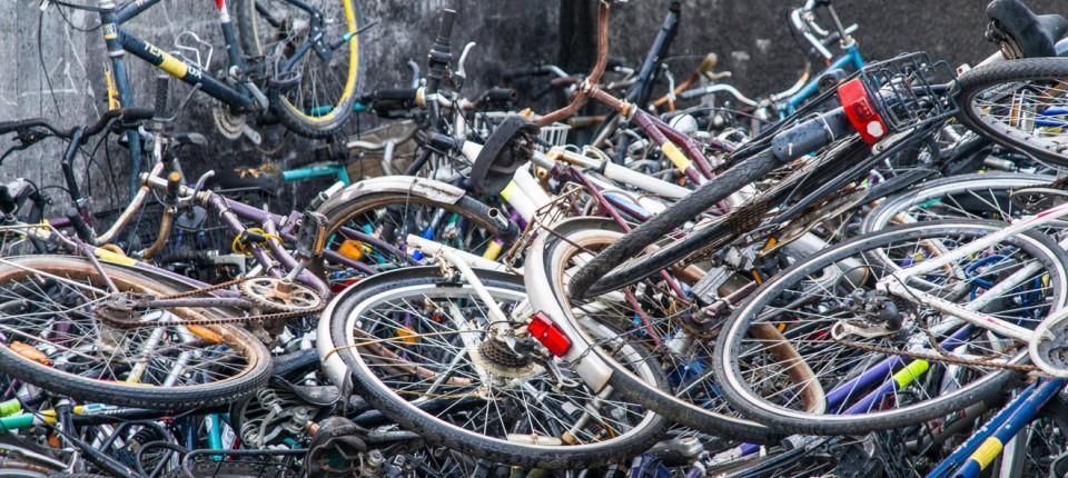 Wie Frankfurt Mit Herrenlosen Fahrrädern Umgeht