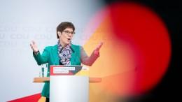 """CDU setzt auf """"Haltung"""""""