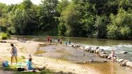 Erholung am Fluss und Schutz am Teich