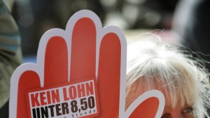 Landtag lehnt flächendeckenden Mindestlohn ab
