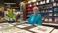 Abschied aus Altersgründen: Monika Steinkopf, langjährige Leiterin der Berger Bücherstube in Frankfurt