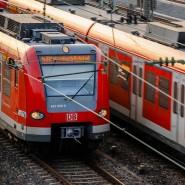 Weit vom Pünktlichkeitsziel entfernt: S-Bahnen in Frankfurt (Symbolbild).