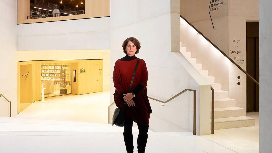 Gastgeberin: Mirjam Wenzel, Leiterin des Jüdischen Museums Frankfurt