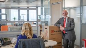 Eine neue Logistik-Zentrale in Frankfurt