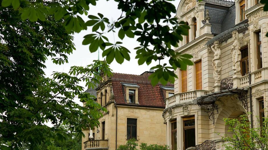 Beste Lage: Villen am Wiesbadener Neroberg
