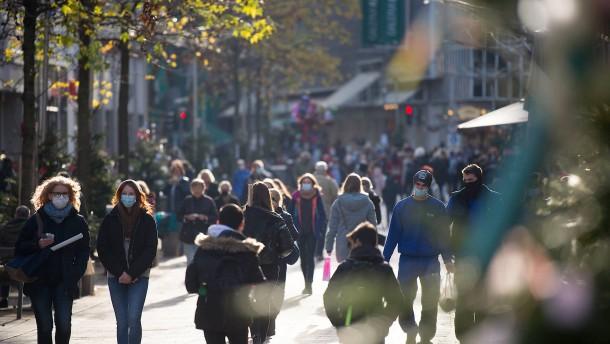 Fußgängerzone in der Krise