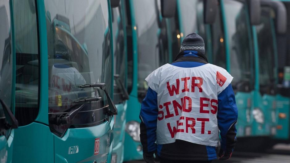 Ziel erreicht: ehedem streikender Busfahrer
