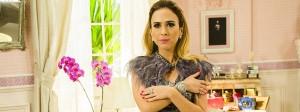"""Rosige Zeiten: Der Look des It-Girls Fedora aus der Telenovela """"Haja Coração"""", gespielt von Tatá Werneck, findet auch in den Straßen von São Paulo viele Follower."""