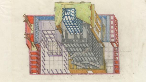 Deutsches architekturmuseum in frankfurt die postmoderne for Frankfurt architekturmuseum