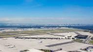 Nach Bedarf: Terminal 3 des Frankfurter Flughafens in der ersten Ausbaustufe mit zwei von vier geplanten Fingern.