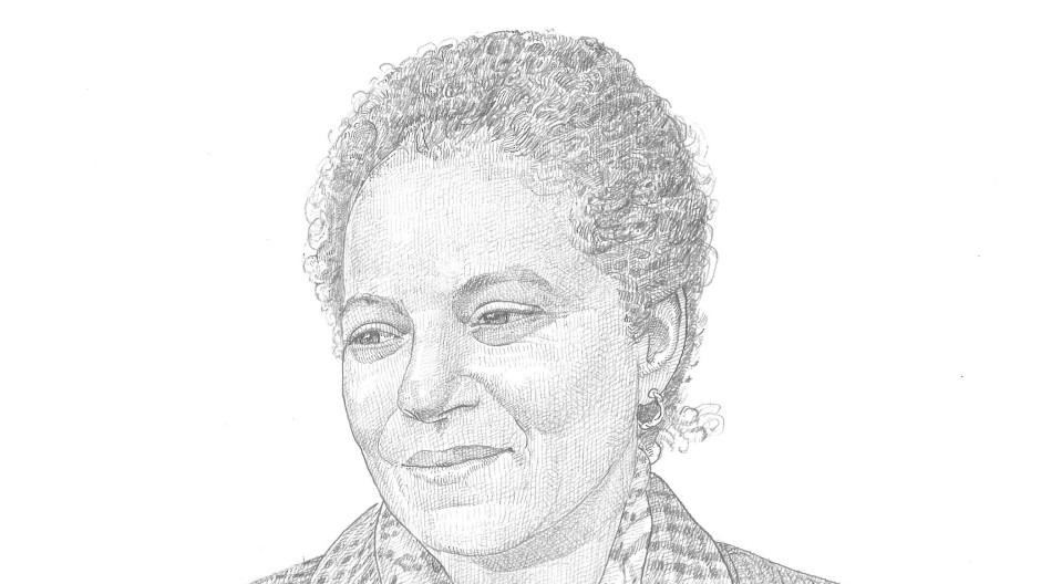 Ein Frankfurter Gesicht: Badia Ouahi betreibt das Café der Schirn Kunsthalle.