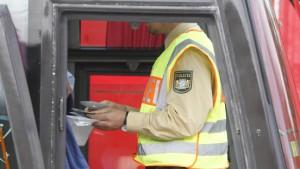 Verkehrskontrollen: Mann mit Granate erwischt