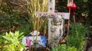 Erinnerung an Leonie: Auf dem Friedhof im Frankfurter Stadtteil Griesheim wurde das Mädchen beerdigt.
