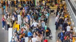 Ferienstart sorgt für höhere Fluggastzahlen