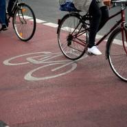 Fahrradfahren: In Großstädten ist die Fortbewegung an der frischen Luft manchmal gefährlich.