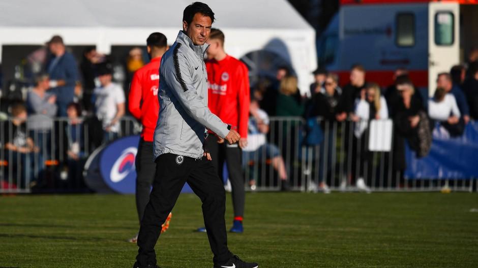 Soll die A-Junioren der Eintracht auf Kurs bringen: Marco Pezzaiuoli, Technischer Direktor