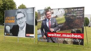 Claus Kaminsky kann in Hanau weiter machen