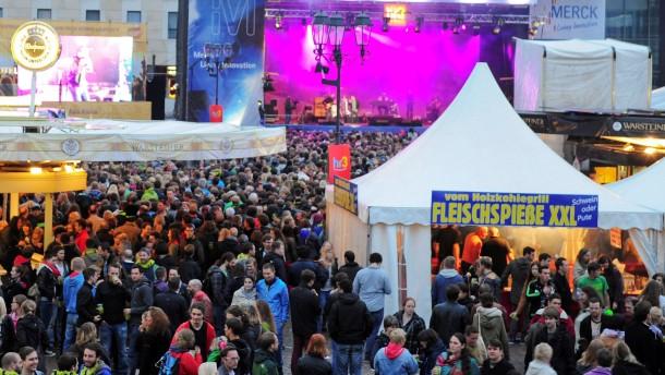 Mehr als 450.000 Besucher bei Schlossgrabenfest