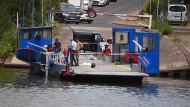 Ausfall: Kurz nach Wiederaufnahme des Betriebs hakt es bei der Mainfähre MS Dörnigheim wieder