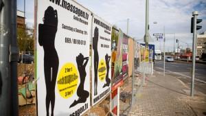 Gute Geschäfte mit verbotener Werbung