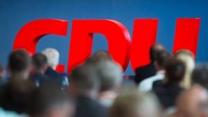 Die CDU vor der Machtprobe