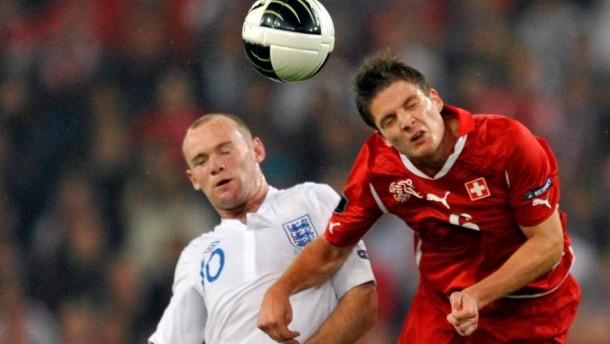EM-Qualifikation - Schweiz - England