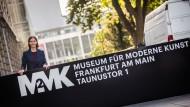 """""""Finanzierungsmodell, das in der deutschen Museumslandschaft einzigartig ist"""": MMK-Chefin Gaensheimer vor der neuen Filiale"""