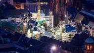 Randlage mit Potential: Die im Bau befindliche Frankfurter Altstadt