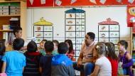 Zehn neue Schulen für Frankfurt in den nächsten Jahren: Die Stadt steht beim Bau von Schulen und Kitas unter Druck. Das Bild wurde in der Henri-Dunant-Schule aufgenommen.