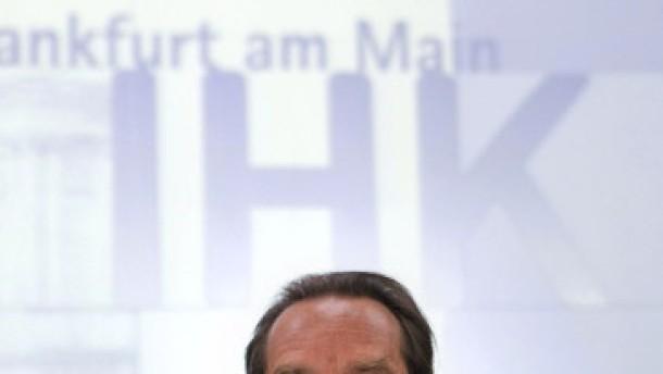 Müller neuer Präsident der IHK Frankfurt