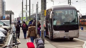 Busbahnhof bald an Kapazitätsgrenze