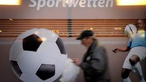 Wette auf die Sportwetten-Lizenzen