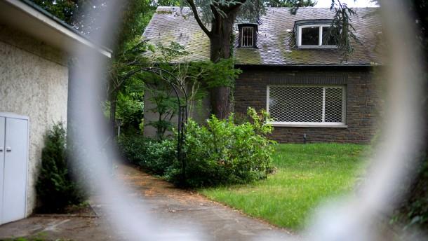 Leerstehende OB-Villa