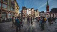 Besuchermagnet am Main: Viele Frankfurt-Touristen kommen aus dem europäischen Ausland und Asien.