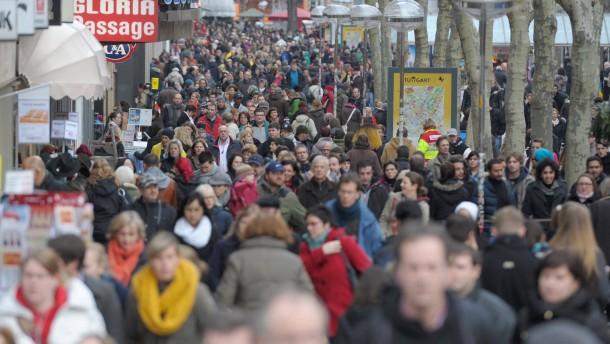 Bevölkerungszuwachs wie seit 1993 nicht