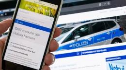 """Polizei ist im """"Corona-Modus"""""""