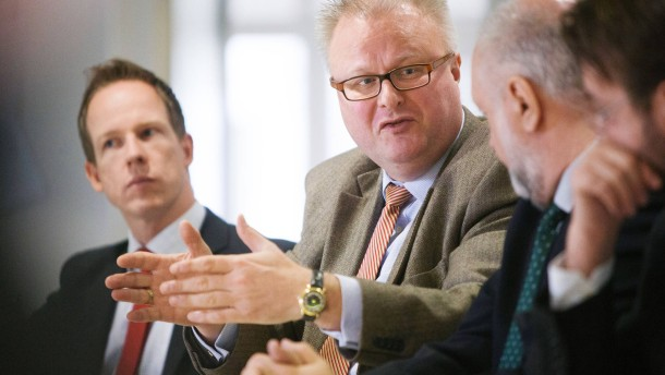 Thomas Schäfer - Hessischer Finanzminister zu Gast bei der Redaktionskonferenz der Rhein-Main Zeitung