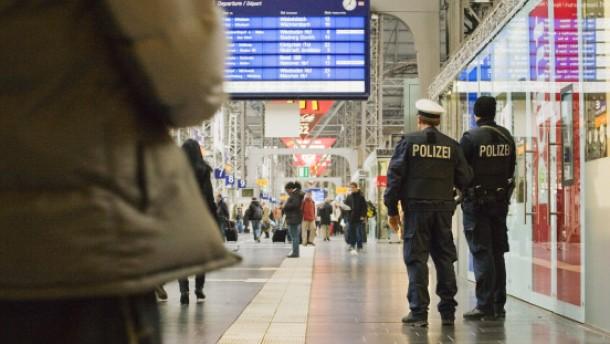"""""""Bei Verdacht an Polizei wenden"""""""