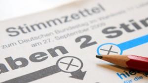 Hanauer Stimmzettel in Frankfurt