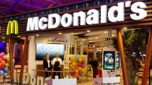 Big Mac mit Bedienung