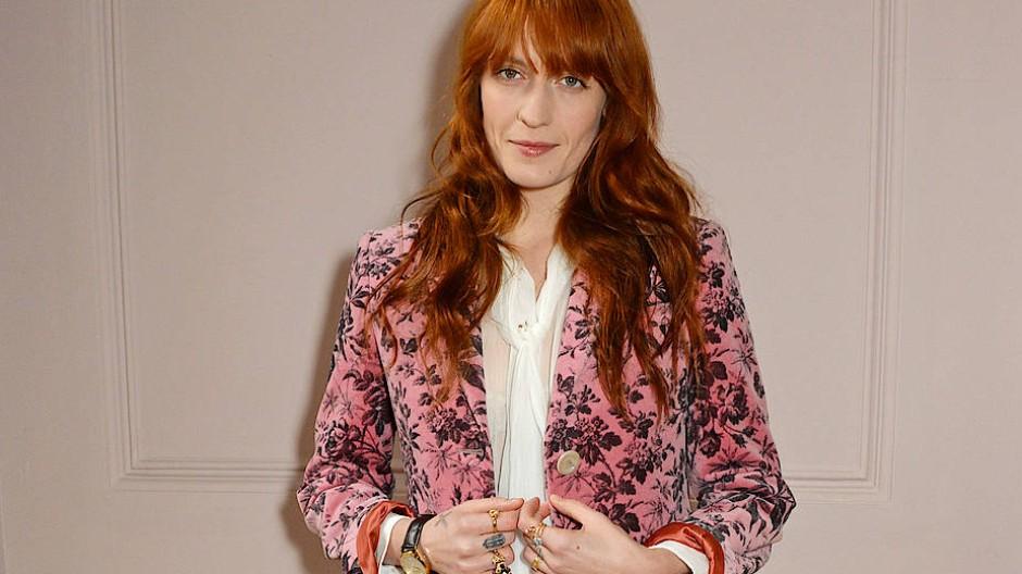 Sangerin Florence Welch Uber Mode Und Schmuck