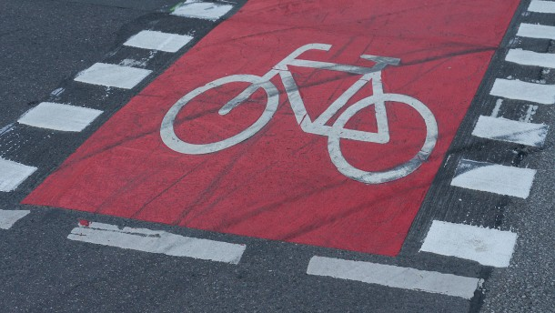 Mensch geht, Rad fährt