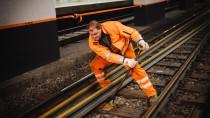 Stahlstecher: Nächsten Sommer wird im S-Bahn-Tunnel wieder kräftig angepackt – wie hier bei Arbeiten im Januar.