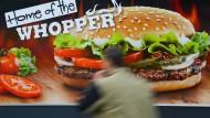 Bei Burger King wird wieder gebrutzelt