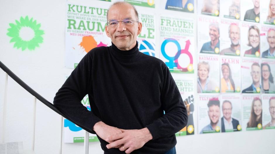 Zeug zur Führungsrolle: Bastian Bergerhoff, Spitzenkandidat der Frankfurter Grünen bei der Kommunalwahl